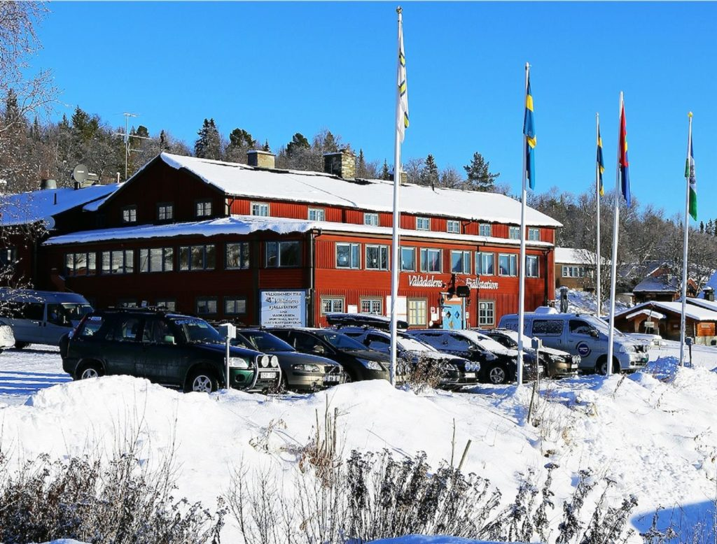 Vinterbild station – stor (Large)